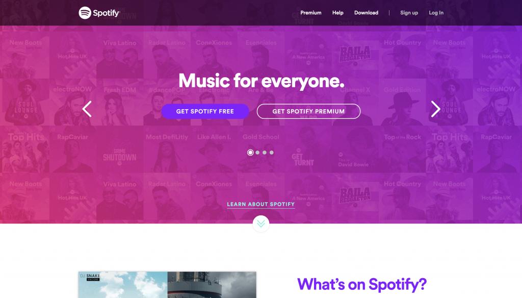 https://www.spotify.com/us/