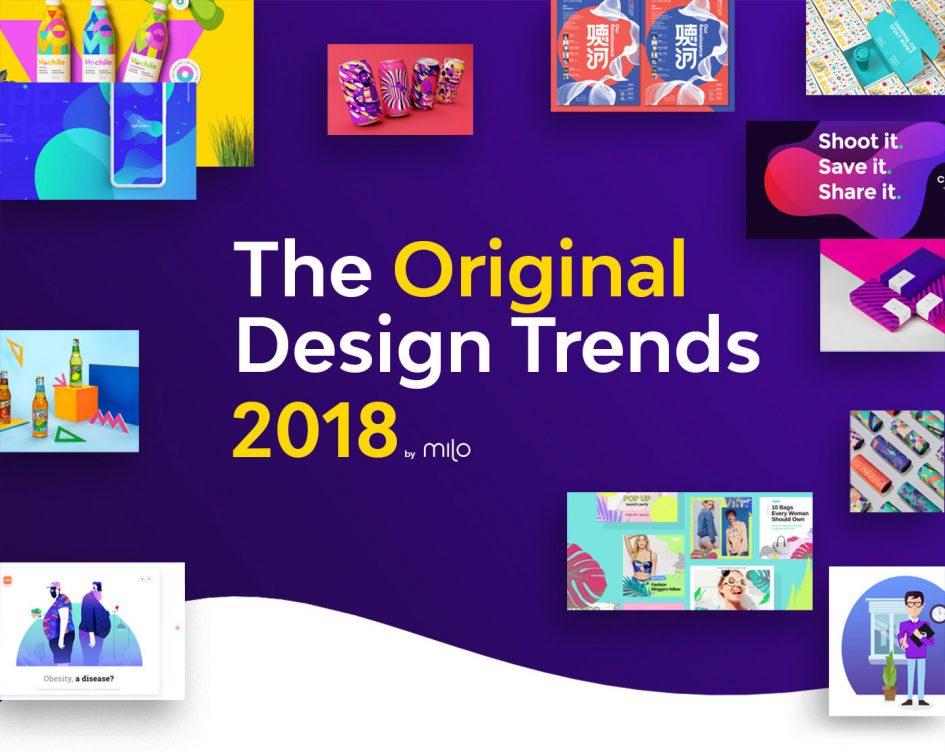 2018年のwebデザインに影響する51個の注目トレンド by milo web design