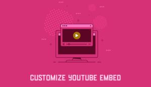 YouTube動画埋め込み時にパラメータを指定して表示をカスタマイズする方法