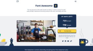 Font Awesome 6がもうすぐ提供開始!新たなアイコンの種類やスタイルの登場も