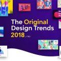 2018年のWebデザインに影響する51個の注目トレンド by milo