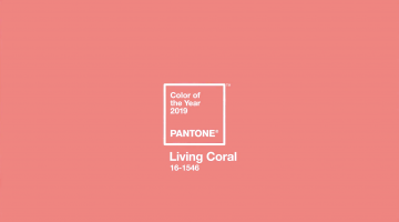 2019年のテーマカラーは「Living Coral」:パントンが発表